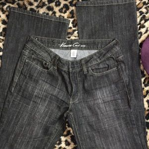 """KENNETH COLE Jeans Sz 26, charcoal, 33"""" inseam"""